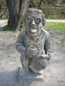 妖精の像(妖精の庭園,サウンド・オブ・ミュージック,ドレミの歌,ミラベル庭園,オーストリア,ザルツブルク)