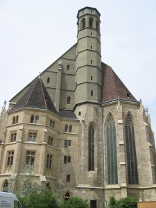 ミノリーテン教会(オーストリア,ウィーン)